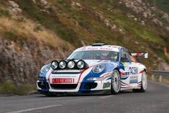 Xavi Pons Porsche 911 Principe Asturias Stock Images