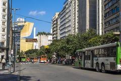 Xavier de Toledo Street Fotografie Stock Libere da Diritti