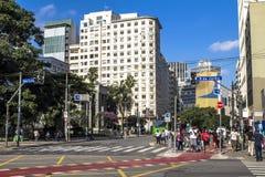 Xavier de Toledo Street Stockfoto