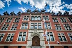 Xavier Hall, at Johnson and Wales University, in Providence, Rho stock photo