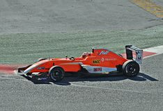 Eurocup Formula Renault 2.0 2017 Barcelona circuit Stock Photography