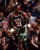 Xavier McDaniel, Boston-Celtics stockbild