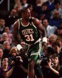 Xavier McDaniel, Boston-Celtics Stockbild