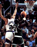 Xavier McDaniels Boston Celtics Royaltyfri Foto