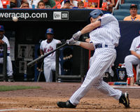 Xavier Nady New York Mets. New York Mets outfielder Xavier Nady Royalty Free Stock Image