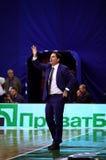 Xavier Pascual, head coach of FC Barcelona Stock Photos