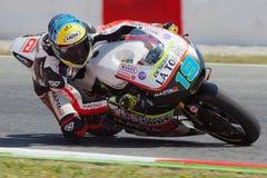 Xavier Simeon, Moto2 Montmelo fotografie stock