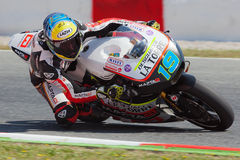 Xavier Simeon, Moto2 Montmelo Stock Photos