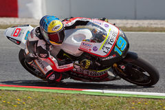 Xavier Simeon, Moto2 Montmelo Royalty Free Stock Photos