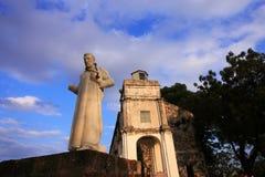 xaview статуи st francis Паыля церков Стоковые Изображения