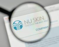 Xbox米兰,意大利- 2017年11月1日:Nu皮肤在的企业商标 免版税图库摄影
