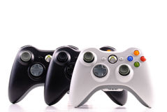 XBox 360 Game Controls Royalty Free Stock Photo