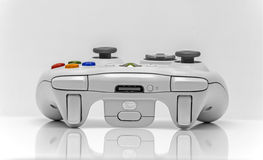 Xbox. Newton abbot, Devon, UK, March 16th 2016  - Showing a Microsoft xbox360 games console controller isolated on a white background Royalty Free Stock Photos
