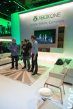 Xbox One stand at E3 2013 Royalty Free Stock Photography