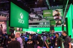 Xbox uma cabine no E3 2013 Imagens de Stock