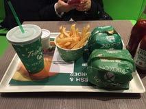 Xbox una x O tripla - il primo ristorante del mondo in Hong Kong Fotografie Stock