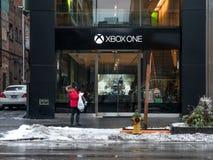 Xbox una tienda Foto de archivo