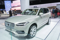 XC90 Child Seat Concept. Los Angeles, USA - November 19, 2015: XC90 Child Seat Concept on display during the 2015 Los Angeles Auto Show Stock Images