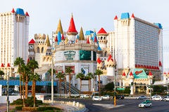 Xcalibur旅馆和赌博娱乐场 免版税库存照片