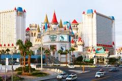 Xcalibur旅馆和赌博娱乐场 库存图片