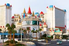 Xcalibur kasyno i hotel Zdjęcia Royalty Free