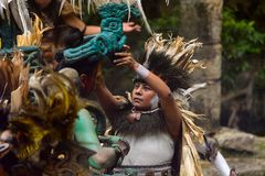 Mayan people in Mexico Stock Images