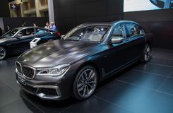 XDrive Μ αθλητισμός της BMW M760Li στοκ φωτογραφίες με δικαίωμα ελεύθερης χρήσης