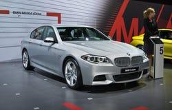 XDrive BMW M550d Royaltyfria Bilder