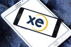 XE foreign exchange logo stock image