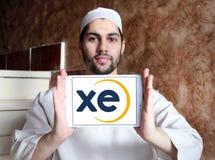 XE wymiany walut logo Obraz Royalty Free