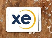XE wymiany walut logo Fotografia Royalty Free