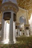 Xeique Zayed Grande Mosque Fotos de Stock Royalty Free