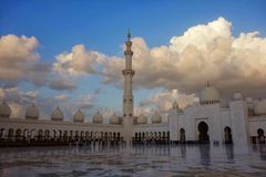 Xeique Zayed Grande Mosque Imagens de Stock