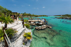 Xel-ha in Mexico Stock Photography