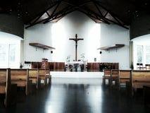 xela的教会 免版税图库摄影
