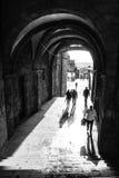 Xelmirez båge på Santiago de Compostela Royaltyfri Foto