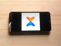 Xender app στοκ εικόνες με δικαίωμα ελεύθερης χρήσης