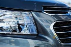 Xeno o luce del LED di un'automobile moderna Fotografia Stock Libera da Diritti