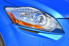 Xenon car headlight Royalty Free Stock Photography