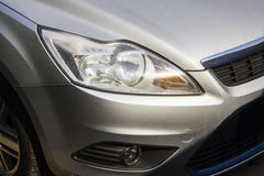 Xenon car headlight Stock Photo