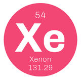 Xenon chemical element Stock Photography