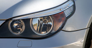 Xenon head-light stock images