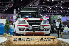 Xenon 150XT with car at Thailand International Motor Expo 2015 Stock Images