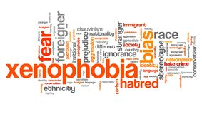 Xenophobia Royalty Free Stock Photography