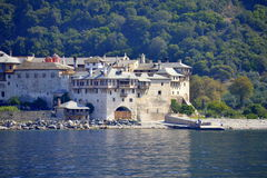 Xenophon Monastery Mount Athos  Greece Stock Images