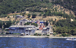 Xenophontos monastery. Holy Athos. Stock Photography