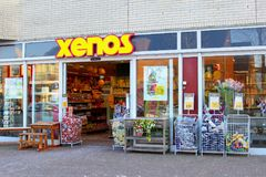 Xenos shop store building chain corporation, Netherlands Royalty Free Stock Images