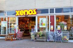 Xenos-Shopgeschäftsgebäude-Kettengesellschaft, die Niederlande Lizenzfreie Stockbilder