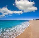 Xeraco Jaraco beach in Valencia Spain stock photography