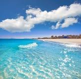 Xeraco Jaraco beach in Valencia Spain stock images